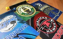 Hockey Banners - Dressing Room Door Flags Design