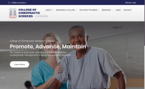 College of Chiropractic Sciences Canada Design