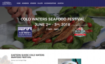 Cold Waters Seafood Festival Design